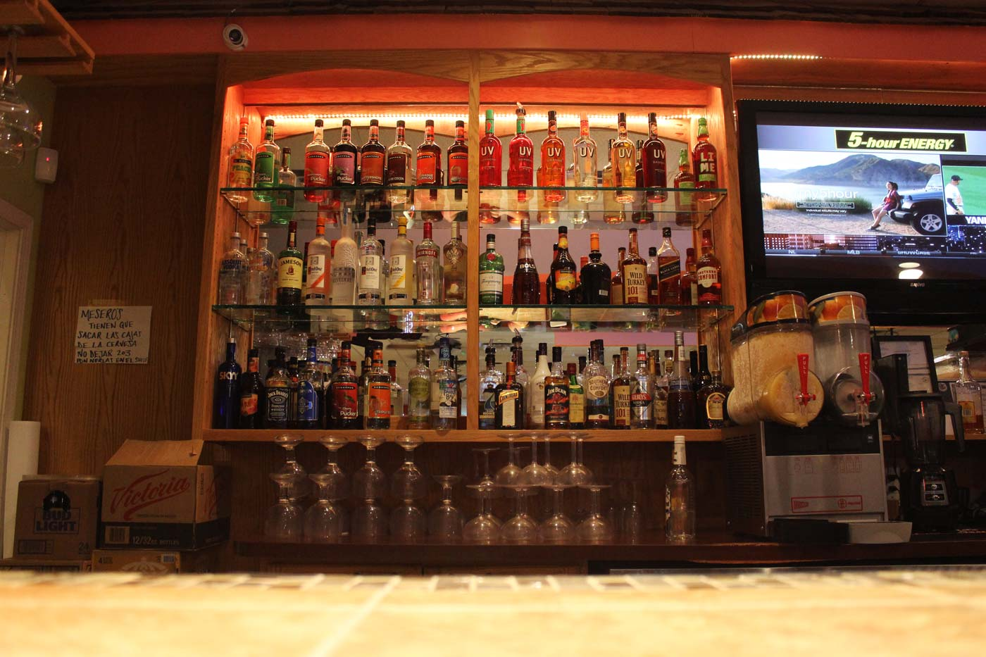 Hacienda - Bar & Liquor Selection